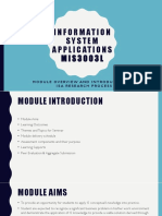 Lecture 1 - Information System Applications