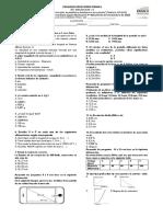 Examen Semestral de Física 9