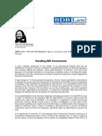 150.Handling BIR assessment.KCS.07.01.2010np.pdf