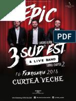 Poster 3SE - Curtea Veche - Print