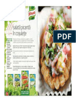 Salata Picanta in Cosulete