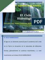 El Ciclo Hidrologico