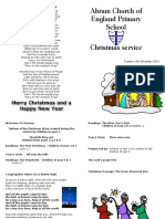Christmas Service Booklet 2014