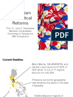 Federalism and Political Reforms