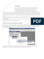 Userform en Excel