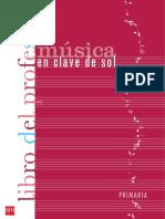 GUIA DIDACTICA MUSICA 6 PRIMARIA