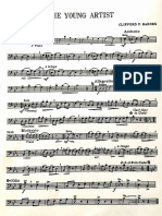 The Young Artist Bass Clef Solo Part