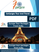 International Holiday Packages From India – Goganges