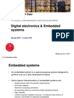 l10 Digital Elecronics and Embedded Systems