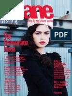 Sloane Magazine Fall 2010