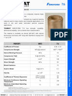 Tenmat Feroform T14 Datasheet