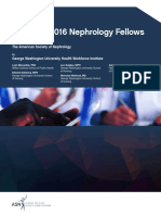 Nephrology Fellow Survey Report 2016