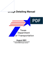 Texas Department of Transportation - Bridge Detailing Manual (2001).pdf