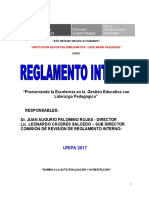 Reglamento Interno Jmaa 2017 Firme