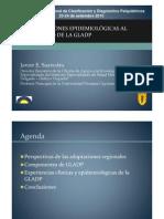 contribuciones epidemiológicas al desarrollo de la gladp - javier saavedra