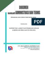Dokumen Penawaran Administrasi Teknis