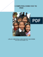 Peace Corps Peru Welcome Book 2016