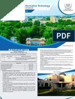 IIITA MBA Admission Brochure 2018