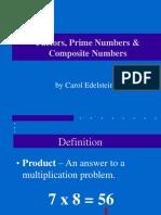 factors prime composites