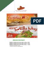 Catalogo the Tortilla Factory Septiembre 2016