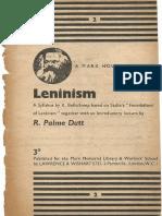 Leninism (A Marx House Syllabus)
