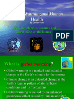 Global Warming Health Impacts