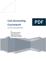 cost accounting group project