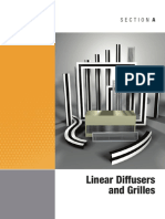 Section a Linear Diffusers and Grilles