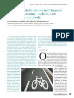 Valutazione Delle Lesioni Nell impatto Ciclista Veicolo