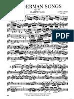 Spohr, Ludwig-Six German Songs
