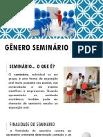 Gênero seminário