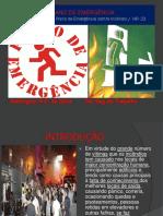Plano de Emergência Apresentação SEGURANÇA DO TRABALHO NWN