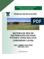Estudio de Captacion de Agua Potable en La Zona de Salluca, Copacabana La Paz