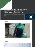 Trabalho Sobre o Lixo