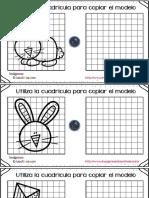 Dibujamos Con Cuadricula Motivos Primavera PDF 1 10