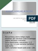 Presentasi 1, DIARE