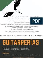 Gonzalo Victoria - Guitarrerías