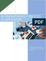 Proyecto Clasificacion de Los Presupuestos