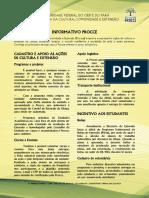 Informativo Procce - Nº 001