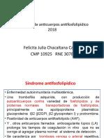 Síndrome antifosfolipídico