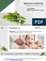 Best pediatrics and Adolescent medicine in Delhi - Makkar Multi Hospital