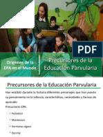 2 - Precursores de La Educ Parvularia
