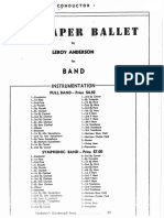 Sandpaper-ballet by Leroy Anderson