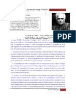 Jacques Derrida-Le Siecle & Le Pardon