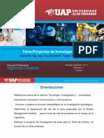 Diapositivas Proyectos de Investigacion III Unidad II OK