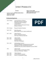 Pomerantz CV