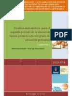 DESAFIOS MATEMATICOS PRIMARIA