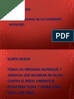 Sujeto pasivo , activo ambiente.pptx