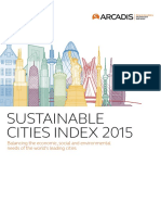 Arcadis Sustainable Cities Index 2015