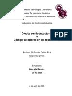 Diodos Semiconductores y Resistencias